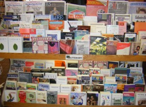 Literature Stand at Shop